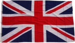 XXL Flagge Grossbritanien 250 x 150 cm Fahne mit 3 Ösen 100g/m² Stoffgewicht