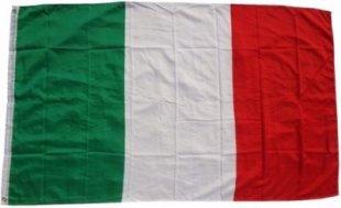 XXL Flagge Italien 250 x 150 cm Fahne mit 3 Ösen 100g/m² Stoffgewicht