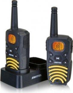 Switel WTF 3700B spritzwassergeschütztes Funkgerät mit Leuchtdisplay