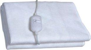 Elektrische Vlies Heizdecke weiß Heizmatte Wärmeunterbett Unterbett Wärmedecke