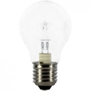 Calex Halogenlampe Energy Saving A55 Clear - E27, 240V - 28W