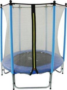 GSD Kinder Trampolin 140 cm mit Netz blau