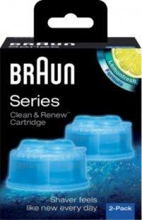 Braun Rasierer Clean & Renew Reinigungskartusche CCR 2 (2er-Pack)