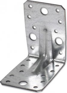 Gaardi Schwerlast Winkelverbinder mit Sicke, 25 Stck., 90x90x65mm