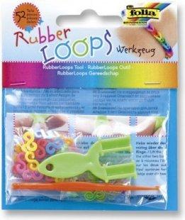 Folia Rubber Loops Starter Werkzeug Set, mehrfarbig (1 Stück)