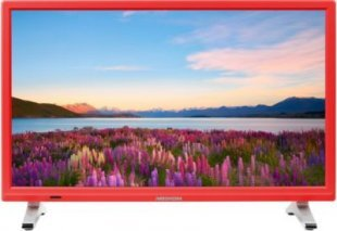 MEDION® LIFE® P13500 Fernseher, 54,6 cm (21,5´´) LED-Backlight, HD Triple Tuner, integrierter Mediaplayer, CI+ Modul, rot