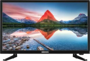 54,6 cm (21,5´´) LCD-TV MEDION® LIFE® P12310 (MD 21443), HD Triple Tuner, Full HD, DVD-Player, USB