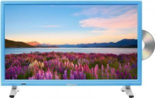 MEDION® LIFE® P12501 Fernseher, 54,6 cm (21,5´´) LED-Backlight, HD Triple Tuner, integrierter DVD-Player, CI+ Modul, blau
