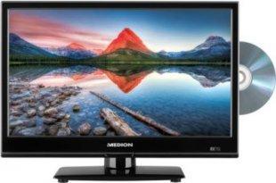 MEDION® LIFE® P12308 TV, integrierter DVD-Player, Car-Adapter, HD Triple Tuner, integrierter Mediaplayer, CI+ (schwarz)