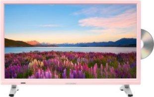 MEDION® LIFE® P12501 Fernseher, 54,6 cm (21,5´´) LED-Backlight, HD Triple Tuner, integrierter DVD-Player, CI+ Modul, rosa