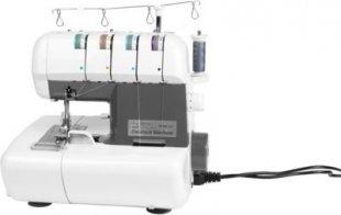 MEDION® Overlock Nähmaschine MD 16600 mit Nählicht, 90W Leistung, einstellbarer Fadenspannung & verstellbarem Differenzialtransport