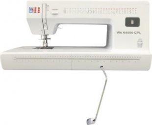 W6 N 9000 QPL Quilt-, Patchwork-, und Langarmnähmaschine mit Freiarm und Kniehebel