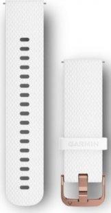 Garmin Ersatzarmband vivomove HR Silikon weiß/rosè (20mm)