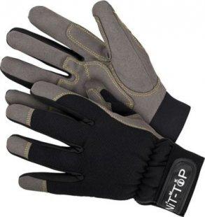 NiT-ToP Arbeitshandschuhe Montage Winter Handschuhe Schutzhandschuhe gefüttert NiT-ToP Arbeitshandschuhe