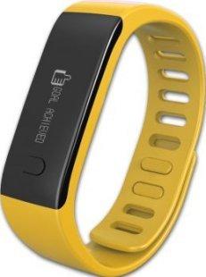 MYKRONOZ ZeFit Fitnessband Tracker Uhr gelb