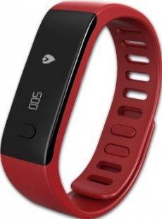 MYKRONOZ ZeFit Fitnessband Tracker Uhr rot