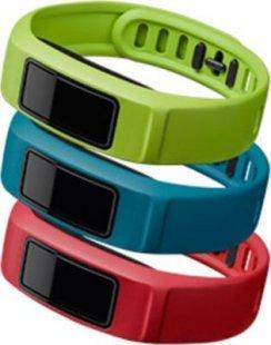 Garmin Ersatzarmbänder vivofit 2 grün, rot, blau (klein)