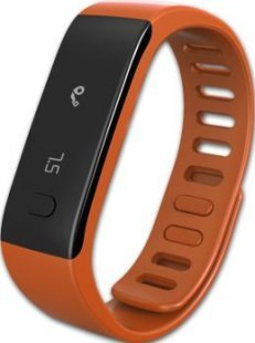 MYKRONOZ ZeFit Fitnessband Tracker Uhr orange