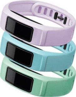 Garmin Ersatzarmbänder vivofit 2 mint, hellblau, lila (klein)