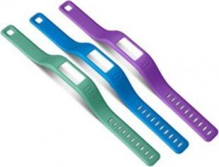 Garmin Ersatzarmbänder vivofit blau, lila, grün (groß)