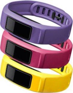 Garmin Ersatzarmbänder vivofit 2 gelb, rosa, violett (groß)