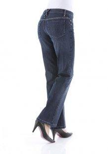 Cheer Bootcut-Jeans »Chris« mit Glitzersteinchen