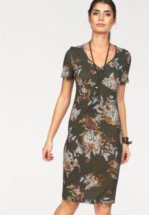 Boysen´s Jerseykleid, mit Blumendruck