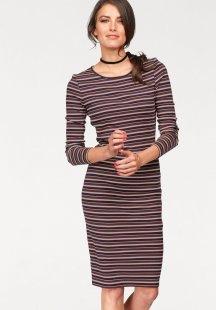 Tamaris Jerseykleid mit Glanzfäden