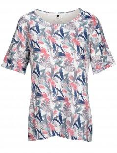 Fry Day Rundhalsshirt mit floralem Muster