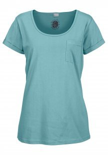 Petite Fleur Basic Kurzarmshirt »Paradise« mit Brusttasche