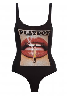 Playboy Body mit Frontprint