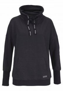 Venice Beach Sweatshirt »Lenka« aus Baby Fleece mit Stehkragen
