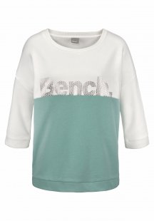 Bench. Sweatshirt im Color Blocking Design