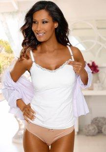 Petite Fleur Still-BH-Hemd ohne Bügel aus Baumwolle