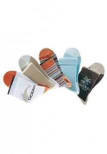 H.I.S Farbenfrohe Socken (5 Paar) mit verstärkter Ferse & Spitze