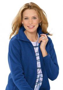 Classic Basics Jacke in weicher Fleece-Qualität