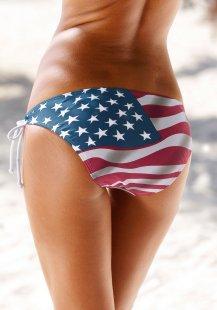 Homeboy Triangel-Bikini im Stars and Stripes-Look