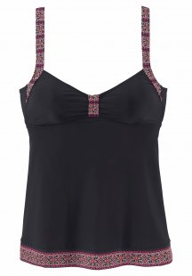 LASCANA Tankini-Top in extra langer Form