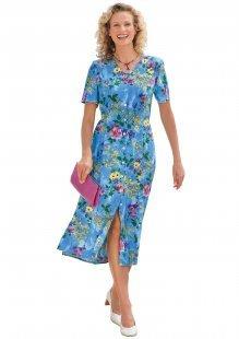 Classic Basics Kleid mit Seitenschlitzen