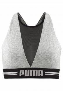 Puma Bustier »High Neck Bra with Mesh«