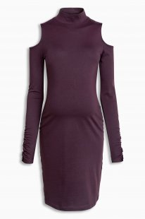 Next Kleid mit Schulterausschnitten, Umstandsmode